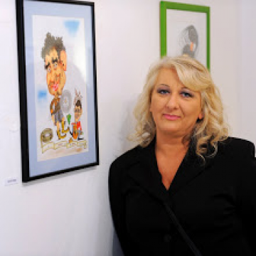 Razstava Lorelle Fermo – Literatura v karikaturi