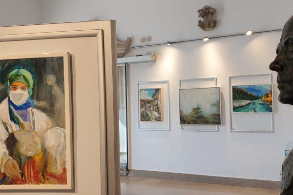 La mostra dell'artista si apre con la presentazione della monografia Vojko Gašperut – Gašper nella Biblioteca di Capodistria