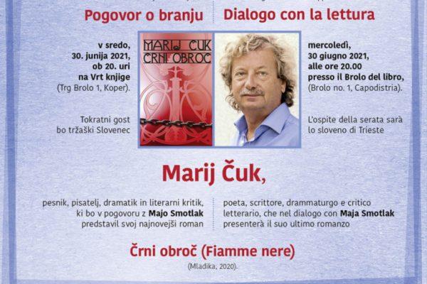 Pogovori o branju: Marij Čuk se predstavi