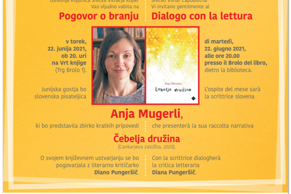 Pogovori o branju: Anja Mugerli